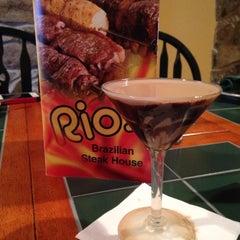 Photo taken at Rio's Brazilian Steak House by Anny R. on 12/13/2013