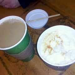 Photo taken at Caribou Coffee by Candice H. on 1/14/2013