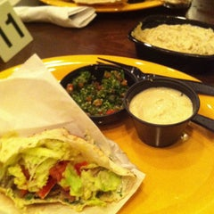 Photo taken at Kibberia Middle Eastern Restaurant & Cafe by rory w. on 12/15/2012