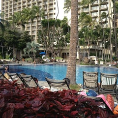 Photo taken at Super Pool and Keiki Pool (Children's Pool) by Mike T. on 1/8/2013