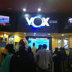 Photo taken at VOX Cinemas by Narciso R. on 3/23/2013