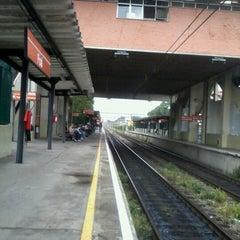 Photo taken at Estação Poá (CPTM) by Daiane X. on 2/5/2013