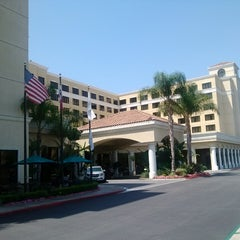 Photo taken at DoubleTree Suites by Hilton Hotel Anaheim Resort - Convention Center by Beto A. on 7/27/2013