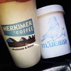 Photo taken at Herkimer Coffee by Herschell T. on 3/17/2013