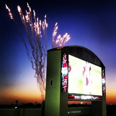 Photo taken at Davis Wade Stadium at Scott Field by StrangeBrewCoffeehouse C. on 9/23/2012