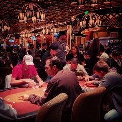 Photo taken at Bellagio Poker Room by Karen H. on 5/21/2013