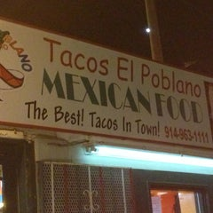 Photo taken at Tacos El Poblano by Lizzette F. on 1/19/2013
