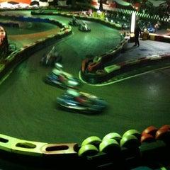 Photo taken at Indoor Karting Barcelona by Iván B. on 2/16/2013