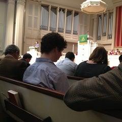 Photo taken at Second Presbyterian Church by Jason Z. on 1/20/2013