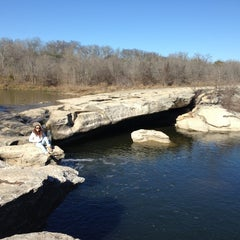 Photo taken at McKinney Falls State Park by Liz C. on 1/13/2013