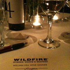 Photo taken at Wildfire by megan p. on 11/14/2012