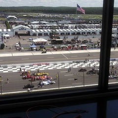 Photo taken at Pocono Raceway by Stadium Journey on 7/7/2013