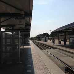 Photo taken at CentrePort / DFW Airport Station (TRE, DART bus, The T) by Sam D. on 7/5/2013