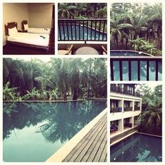 Photo taken at Khaolak Mohin Tara Hotel Phang Nga by Sitthichon K. on 4/5/2014