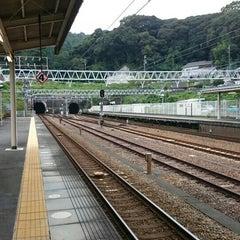 Photo taken at 金谷駅 (Kanaya Sta.) by Hiro0138 on 9/5/2015