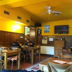 Photo taken at Restaurace Mladá by Petr G. on 10/16/2013
