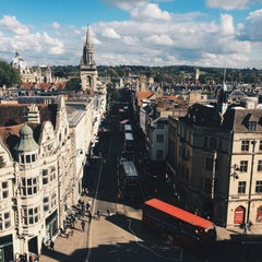 Photo taken at Carfax Tower by Kristiāna A. on 10/9/2015