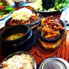 Photo taken at Myung San by Leah L. on 10/28/2012