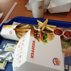 Photo taken at Burger King by Teretia T. on 3/2/2013