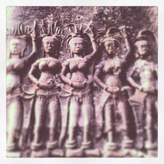 Photo taken at Angkor Wat Temple (អង្គរវត្ត) by Alexey K. on 5/6/2013
