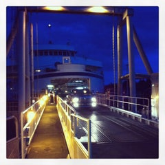 Photo taken at Sturdies Bay Ferry Terminal by Matte M. on 4/11/2013