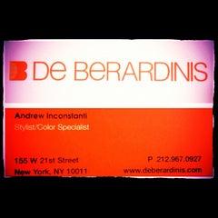Photo taken at De Berardinis Salon by Andrew I. on 10/10/2012