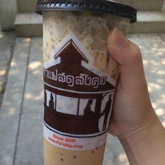 Photo taken at กาแฟสดสังคม (Sangkhom Fresh) by ying🍁 on 4/25/2016