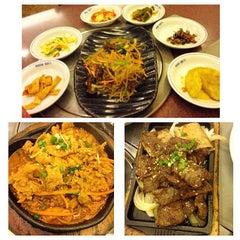 Photo taken at Auntie Kim's Korean Restaurant by Charlotte C. on 5/13/2014