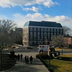 Photo taken at Fordham University - Rose Hill by Abel R. on 1/23/2013