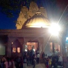 Photo taken at Iskcon mandir by Polomi M. on 3/31/2013