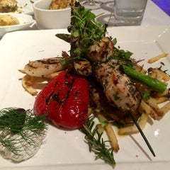 Photo taken at Odeum-Mediterranean Cuisine by Coco on 5/22/2015