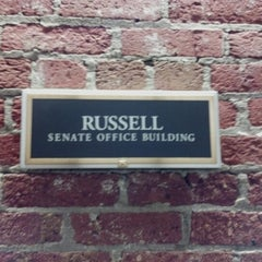 Photo taken at Russell Senate Building by Kathy P. on 1/21/2013