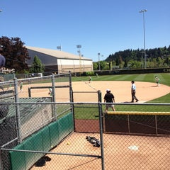 Photo taken at Howe Field by Jennifer on 5/5/2013