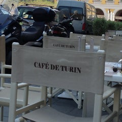 Photo taken at Café de Turin by Владимир on 5/4/2013