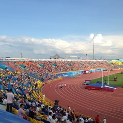 Photo taken at Центральный Стадион / Central Stadium by ☮ Л É ☾Я on 7/11/2013