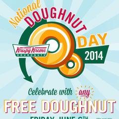 Photo taken at Krispy Kreme Doughnuts by Michael P. on 6/5/2014