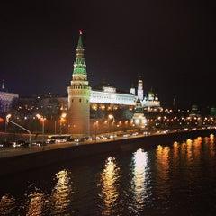 Photo taken at Большой Каменный мост / Bolshoy Kamenny Bridge by Маруся М. on 4/3/2013