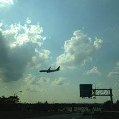 Photo taken at NJ Turnpike Exit 14 by Andrea M. on 8/12/2013