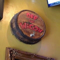 Photo taken at Off The Wagon Bar & Grill by Andrea M. on 6/15/2013