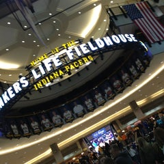 Photo taken at Bankers Life Fieldhouse by Amber H. on 3/4/2013