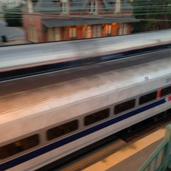 Photo taken at Amtrak/SEPTA: Newark Station by Antonio V. on 10/21/2013