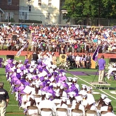 Photo taken at New Rochelle High School by Michelle G. on 6/20/2013