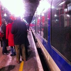Photo taken at Platform 1 by sinister p. on 1/19/2013