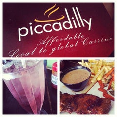 Photo taken at Piccadilly Restaurant by Brenda N. on 6/11/2013