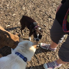 Photo taken at Wag Farms Dog Park by Julie S. on 4/11/2015