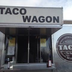 Photo taken at El Mercado Taco Wagon by John C. on 3/22/2014