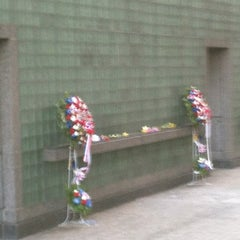 Photo taken at New York City Vietnam Veterans Memorial Plaza by Tiffany on 5/29/2013