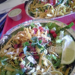 Photo taken at Cafe Rio Mexican Grill by Ina M. on 5/10/2013