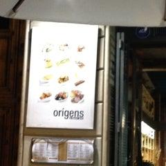 Photo taken at Origens Restaurant by Michael B. on 10/9/2012