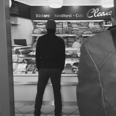 Photo taken at Bäckerei Claus by Andreas S. on 4/30/2016